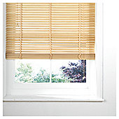 Wood Venetian Blind, 35Mm Slats, Natural 60Cm