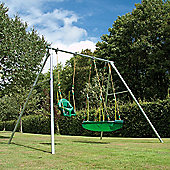 TP Double Giant Steel Swing Set