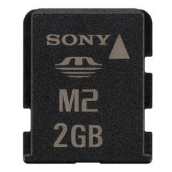 Sony Micro M2 Memory Stick with Adaptor - 2 GB