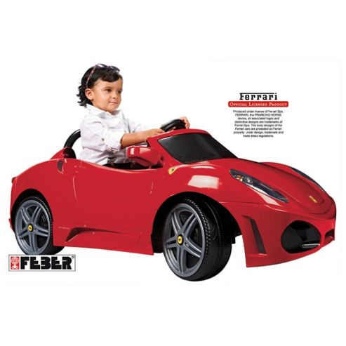 Ferrari F430 6V Ride-On Car