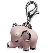 Baby Elephant Clip on Charm