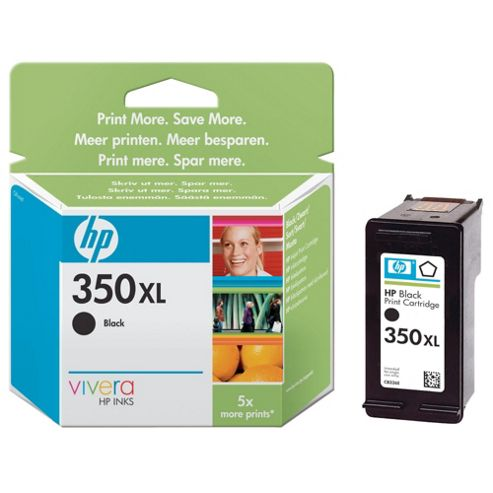 HP 350XL Printer Ink Cartridge(CB336EE) - Black- Duplicate