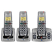 BT Freestyle 750 cordless Telephone with Answer Machine  - Set of 3
