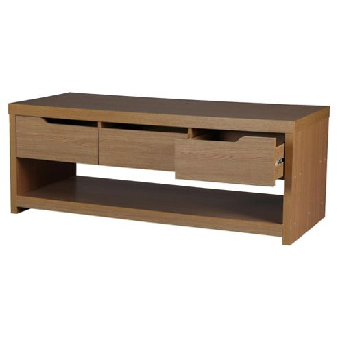 Buy Seattle Coffee Media Table Oak Effect From Our Storage Units Range Tesco