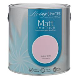 Living Spaces Matt Sugar Pink 2.5L