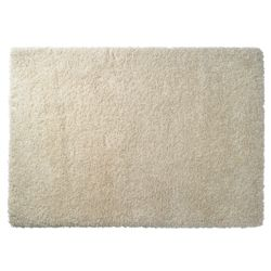 Tesco Rugs Extra Thick Shaggy Rug, Cream 160x230cm