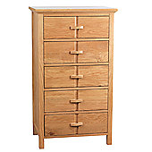 All Home Wren 5 Drawer Chest