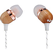 House Of Marley Smile Jamaica Earphones (Copper with microphone)