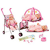 Graco Dolls Playset With Pushchair