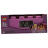 LEGO Friends Brick clock