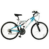 "Vertigo Rockface 24"" Dual Suspension Kids' Mountain Bike - Girls"