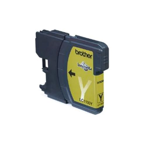 Brother LC-1100Y printer ink cartridge - Yellow