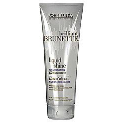John Frieda Brilliant Brunette Liquid Shine Conditioner 250ml