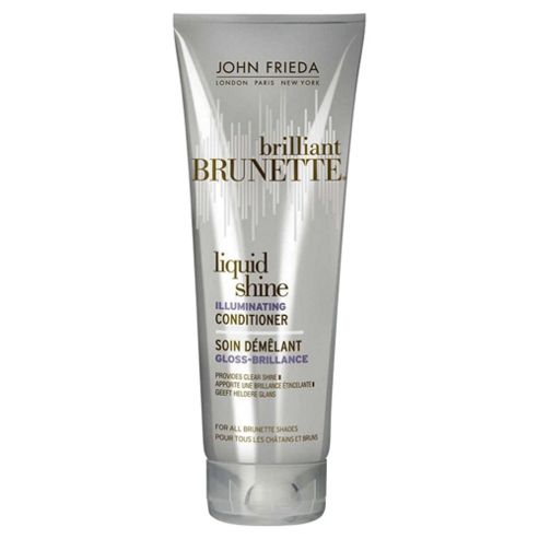 John Frieda Brilliant Brunette Liquid Shine Conditioner 250ml