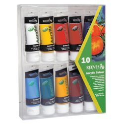 Reeves Acrylic Colour Paints
