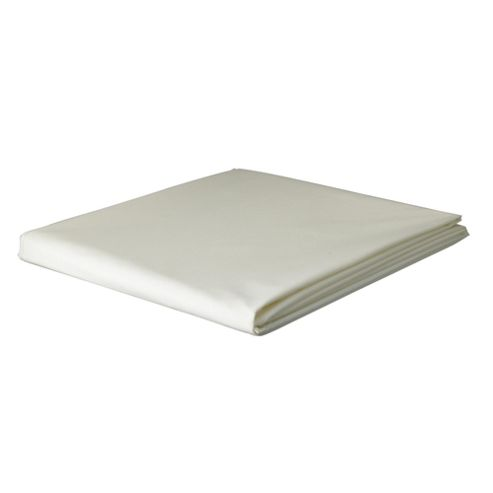 Tesco Brushed Cotton Pillowcase, Cream