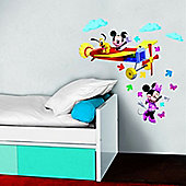 Mickey Mouse Aeroplane Stickers