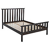Fairhaven Double Bed Frame, Chocolate