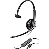 Plantronics Blackwire C315-M Wired Mono Headset - Over-the-head - Supra-aural