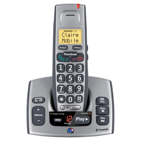 BT Freestyle 750 Single Cordless Phone