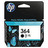 HP 364 Photosmart printer Ink Cartridge with Vivera Ink Blister - Black
