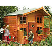 Rowlinson 8ft x 8ft Hideaway Wooden Playhouse