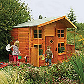Rowlinson Hideaway Wooden Playhouse, 8ft x 8ft