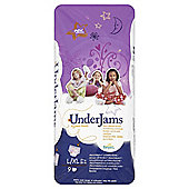 Pampers UnderJams Pyjama Pants - Girl -  Size 8 - Large/Extra Large- 9 Pack