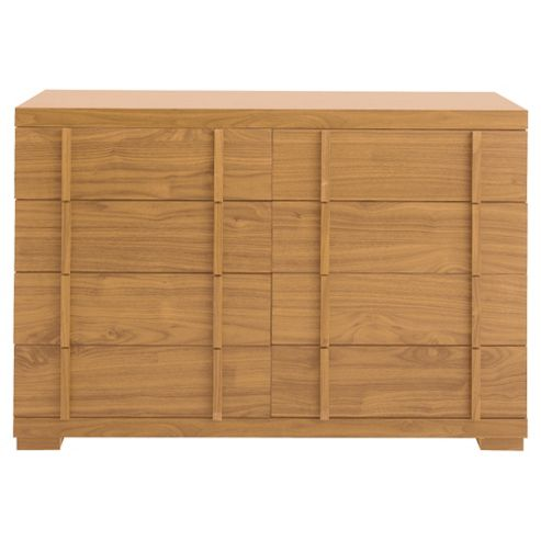 Brandon 8 Drawer Chest, Oak Effect