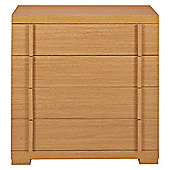 Brandon 4 Drawer Chest, Oak-Effect