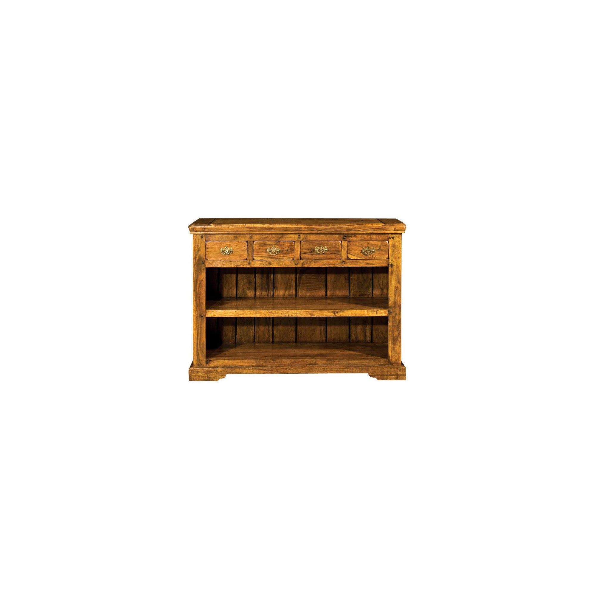 Alterton Furniture Granary Low 4 Drawer Bookcase at Tesco Direct