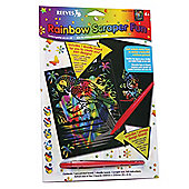 Reeves Rainbow Scraper Fun, 3 Pack