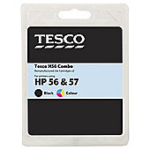 Tesco H90 and H100 multipack Printer Ink Cartridge (Compatible with printers using HP 56 & 57 Cartridge)