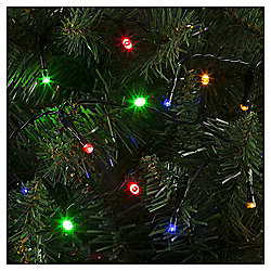 50 LED Christmas Lights, Coloured