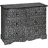 Marrakech six drawer chest