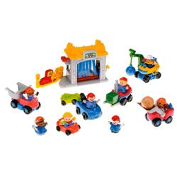 Fisher-Price World Of Little People Car Wash Pack Playset
