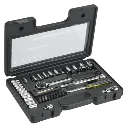 "Stanley 40pc ¼ & 3/8"" Metric Socket Set"