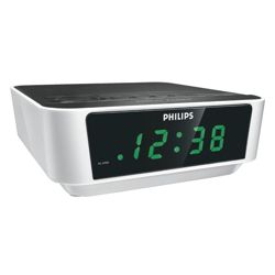 Philips AJ3112 Clock Radio White