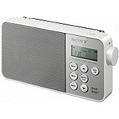 SONY RDPM7IPN COMPACT SPEAKER DOCK WITH 8 PIN LIGHTNING CONNECTOR (WHITE)
