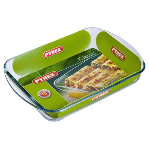 Pyrex 35x23cm Oblong Roasting Pan
