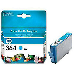 HP 364 Printer Ink Cartridge - Cyan (CB318EE)