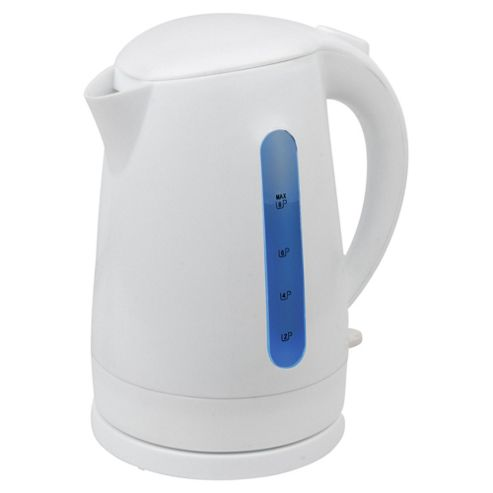 Tesco JKRWP12 3kw White Plastic Kettle