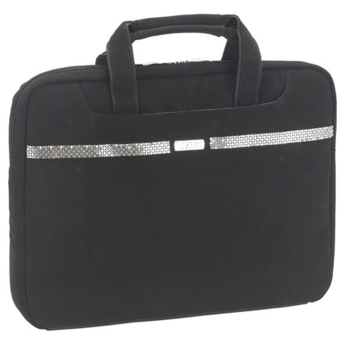Port Designs Paris Black & Silver Laptop Bag - For up to 15.4 inch Laptops