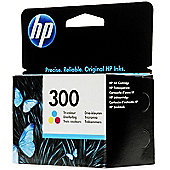 HP 300 Printer Ink Cartridge (CC643EE) - Tri-Colour