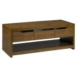 Seattle Coffee / Media Table, Walnut-effect