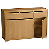 Seattle Large Sideboard, Oak-effect