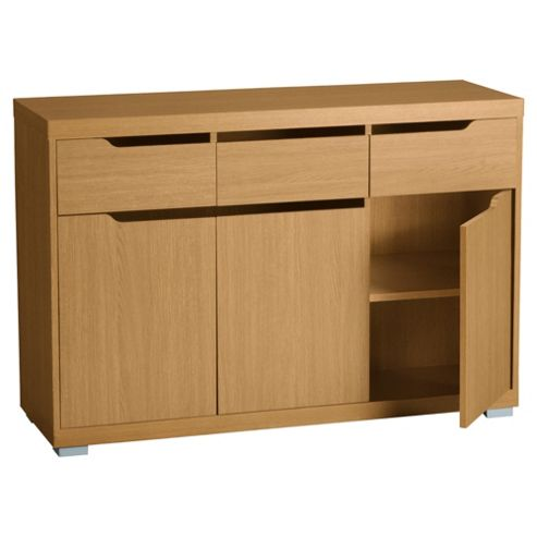 Seattle Large Sideboard, Oak Effect