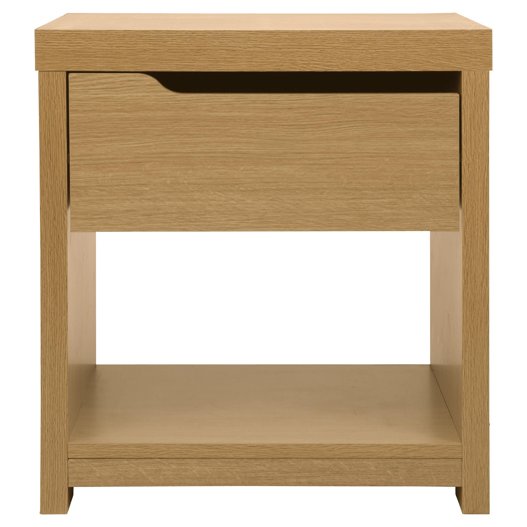 Tesco Seattle Side Table, Oak-effect
