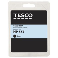 Tesco H200 Black Printer Ink Cartridge (Compatible with printers using HP 337 Cartridge)