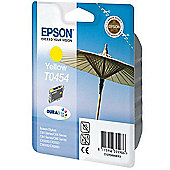 Epson T0454 printer ink cartridge - Yellow